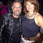 Antonino Salon owner, Anthony Marsalese and Stylist, Rebecca Freeman